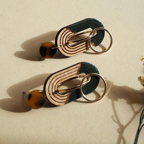 Boucles d'oreilles AZURINE