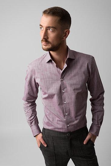 Faded Burgundy Shirt