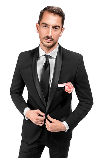 The Black Shawl Charmer Tuxedo