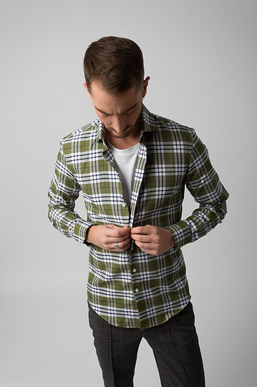 The Green Checked Shirt