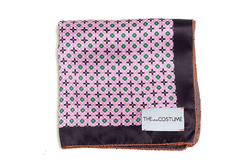 Flamingo Pinko Handkerchief