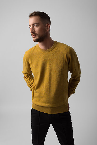 Cashmere Yellow Sweater