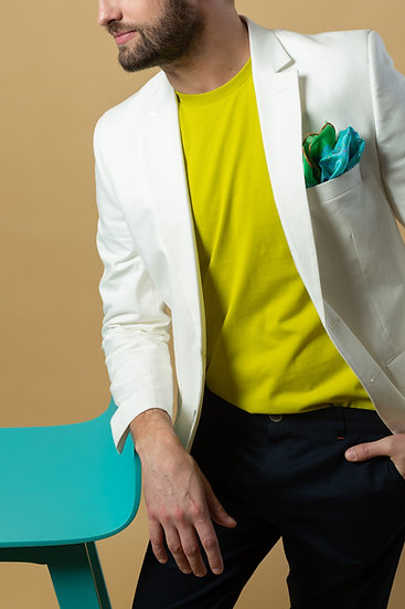 The White Linen Jacket