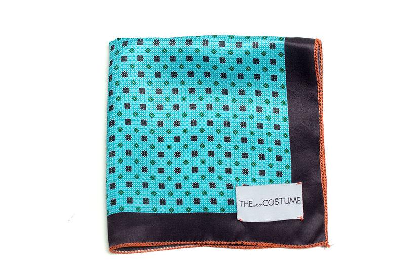 Turquoise Blue Handkerchief