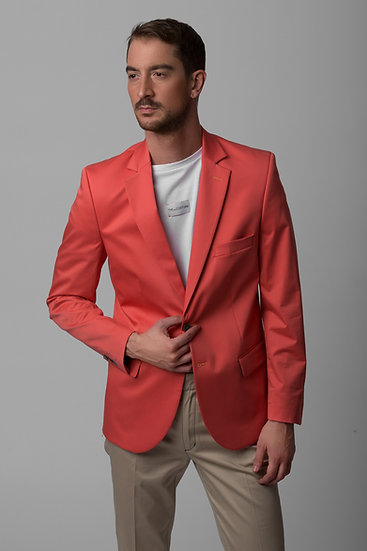 The Living Coral Blazer