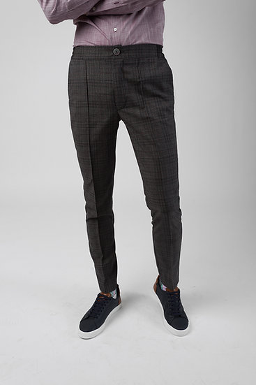The Grey Checked COOL Trousers