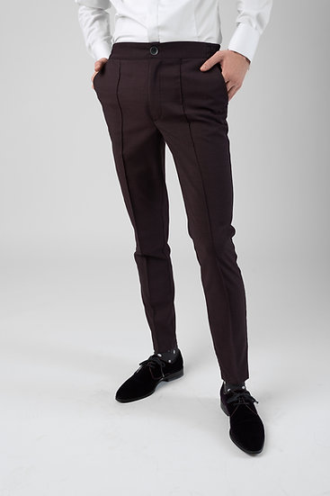 The Black Burgundy COOL Trousers