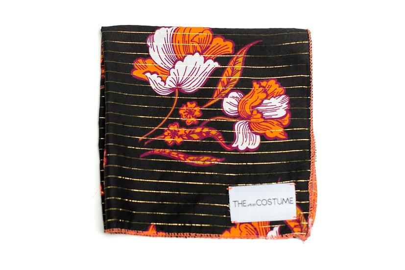 Midnight Coral Handkerchief