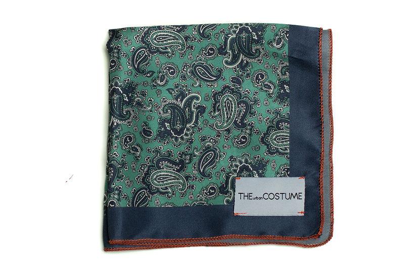 Quiet Paisley Handkerchief