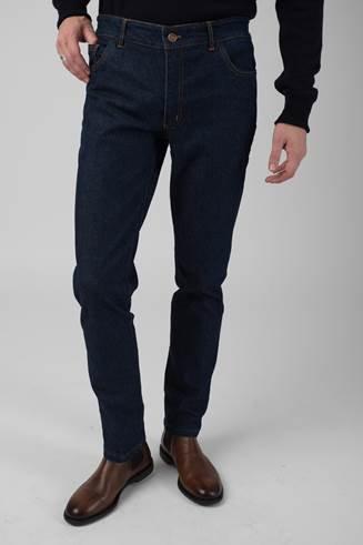 SLIM-Fit Dark Blue Jeans