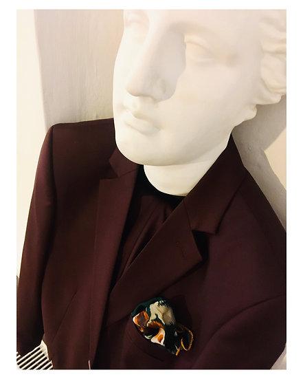 The Cerruti Burgundy Suit