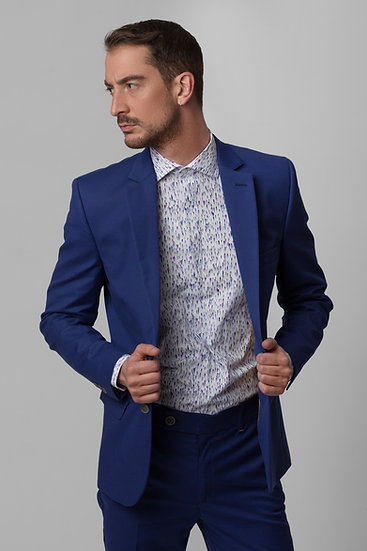 The Relaxed Blue Blazer