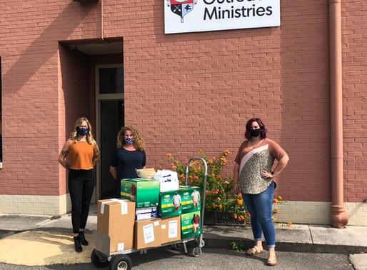 BREWSKI Cares Donation