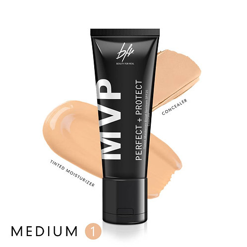 Beauty For Real  MVP Tinted Moisturizer + Concealer Medium 1