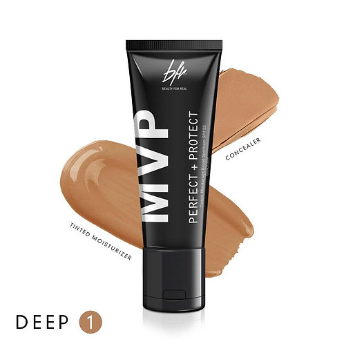 Beauty For Real -MVP Tinted Moisturizer Concealer Deep 1