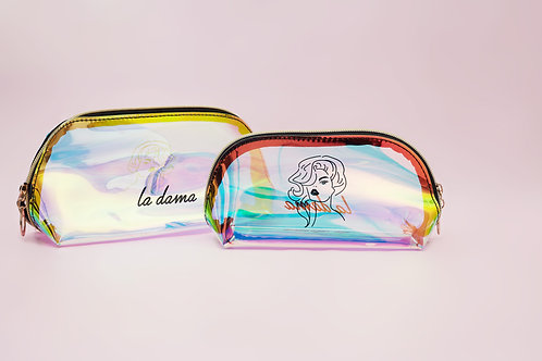 LD Summer Makeup Bag Duo Set