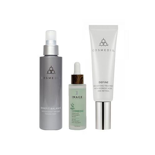 LD Curated Skin Restoring Essentials TRIO | Dehydrated-Oily Skin