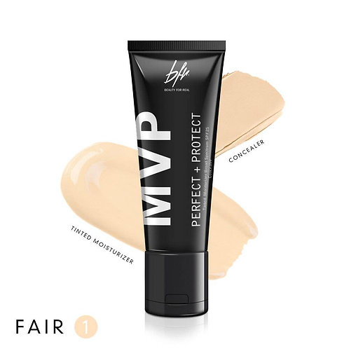 Beauty For Real -MVP Tinted Moisturizer Concealer Fair 1