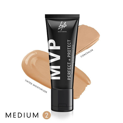Beauty For Real MVP Tinted Moisturizer Concealer-Medium 2