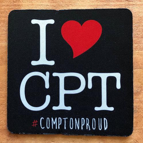 I Heart CPT Coaster