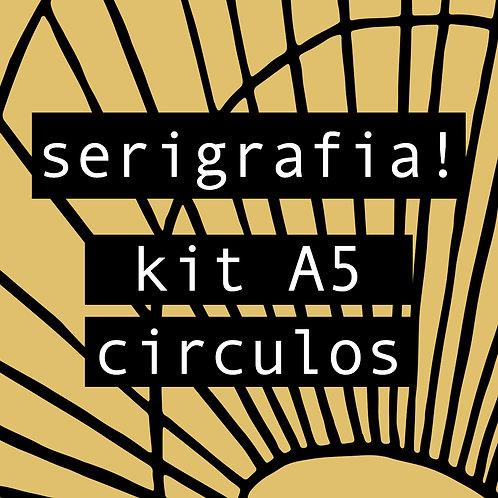 Kit de serigrafia! A5