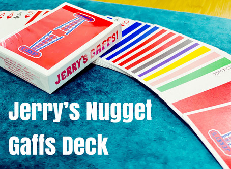 DECK REVIEW - Jerry's Nugget Gaff Deck