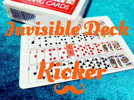 TRICK REVIEW - Invisible Deck Kicker by David Penn