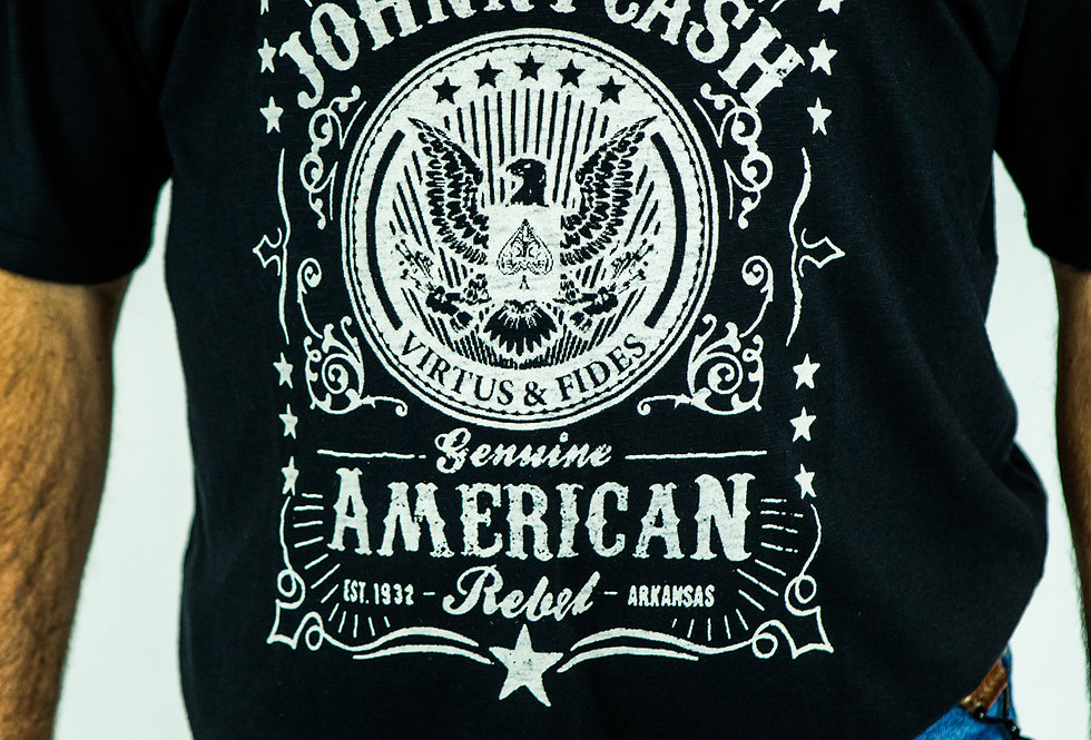 TEE-SHIRT JOHNNY CASH