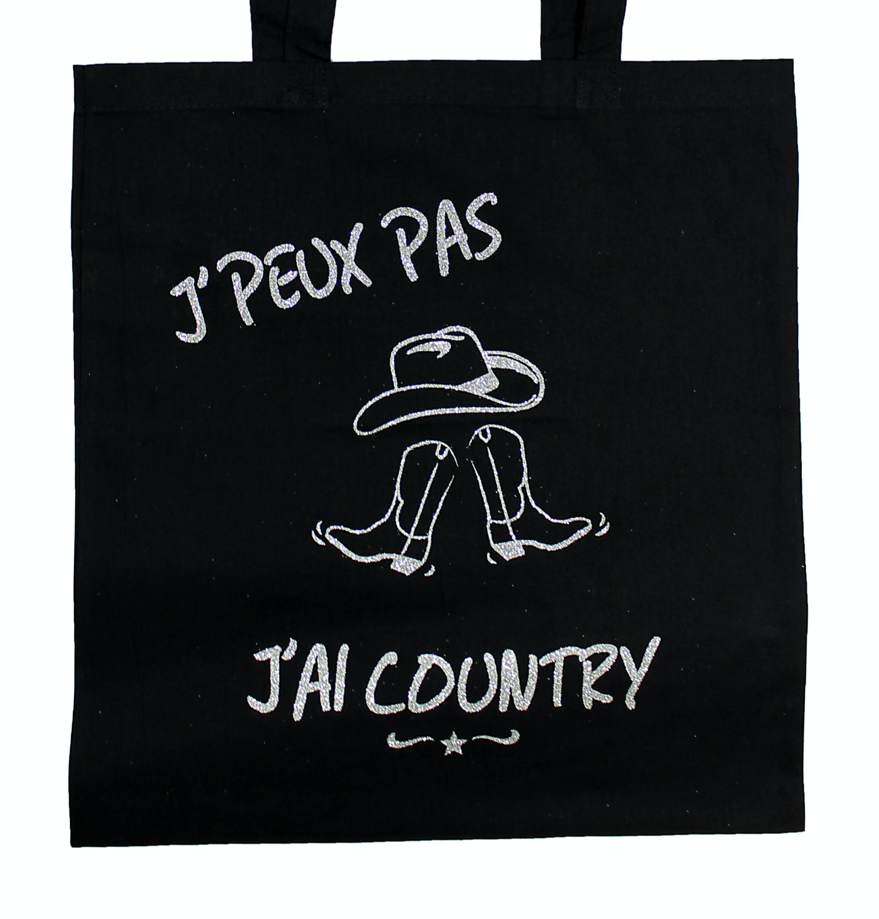 "Tote Bag ""J'peux pas j'ai Country"""