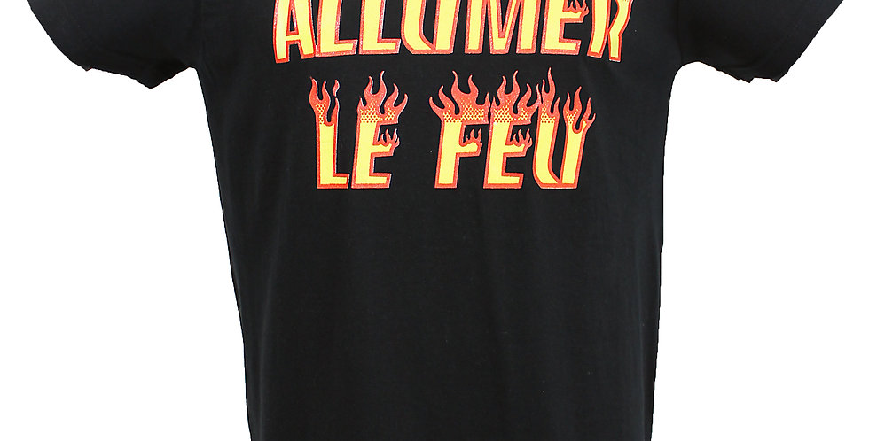 "T-SHIRT HOMME ""ALLUMER LE FEU"""