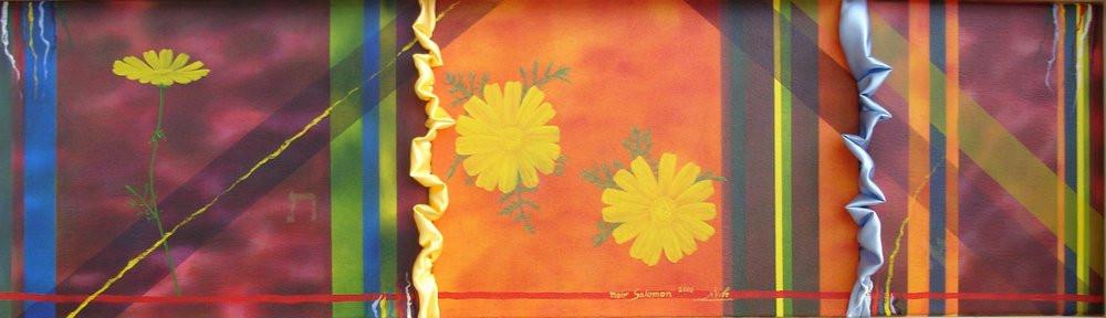 Oil painting by Meri Salomon - Flower