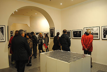Exposition at Rossocinabro in Rome, Italy