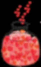 Produkte mit Herz bei OOOGRAFIK, Corina Witte-Pflanz