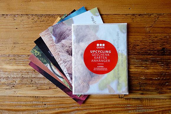 Upcycling Geschenk-Karten Anhänger 2019