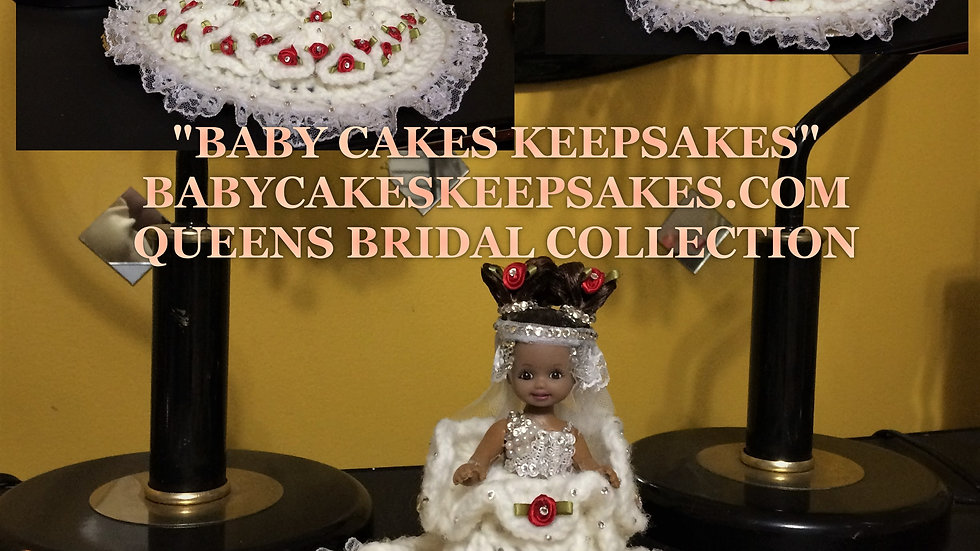 I'am Queen Eboni of Queen Bridal Couture Collection