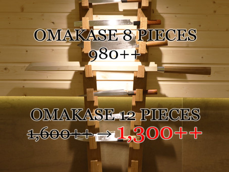 Omakase Promotion for March