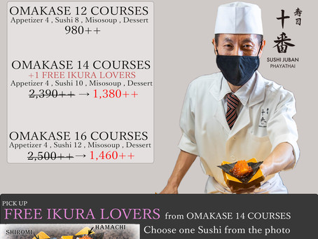 Omakase Promotion for April