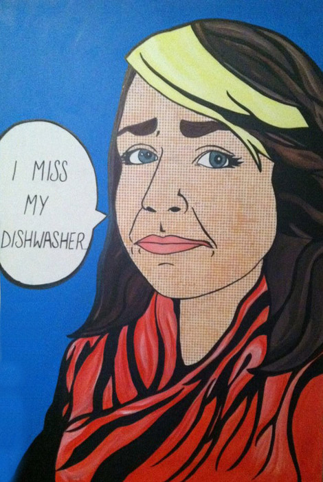 """I miss my dishwasher..."",2012"