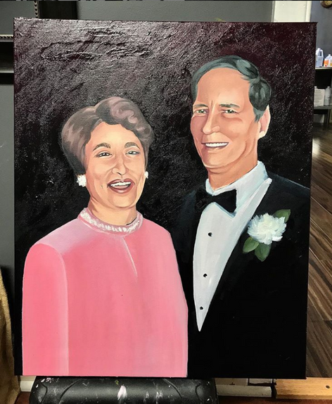 My beloved grandparents, 2018