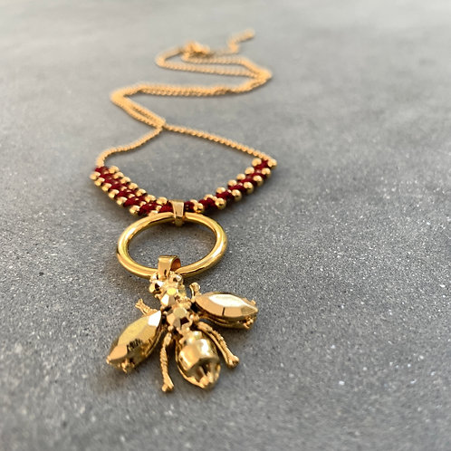 Wasp Necklace