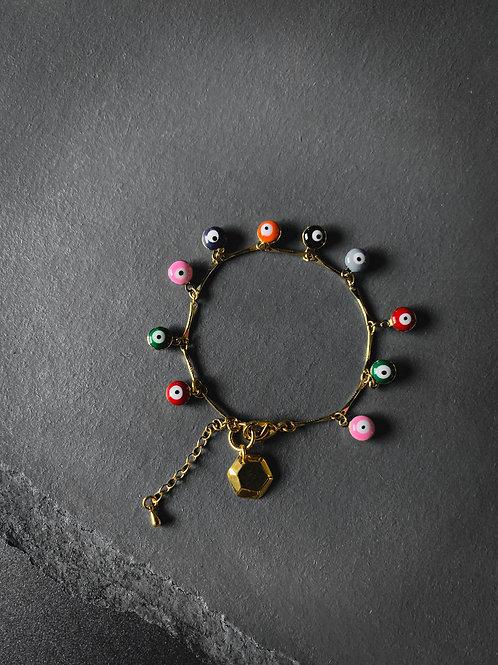 Eye Charms Bracelet