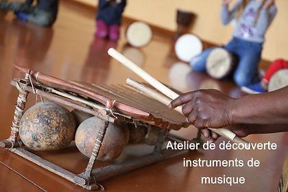 Découverte instruments de musique