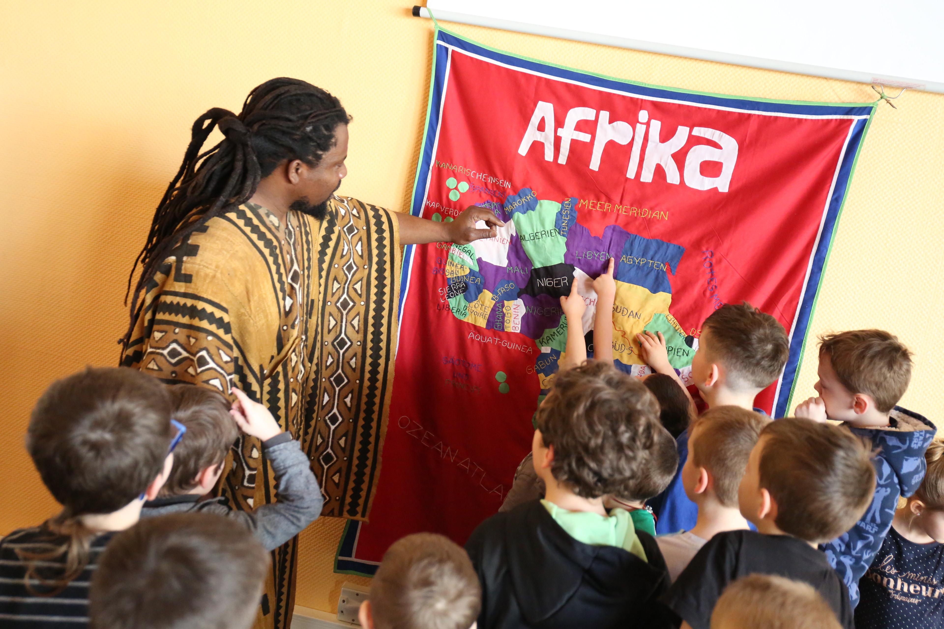 Découverte continent africain