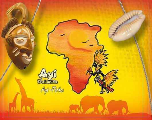 CD percussions et chants Africaines Ayi-perku
