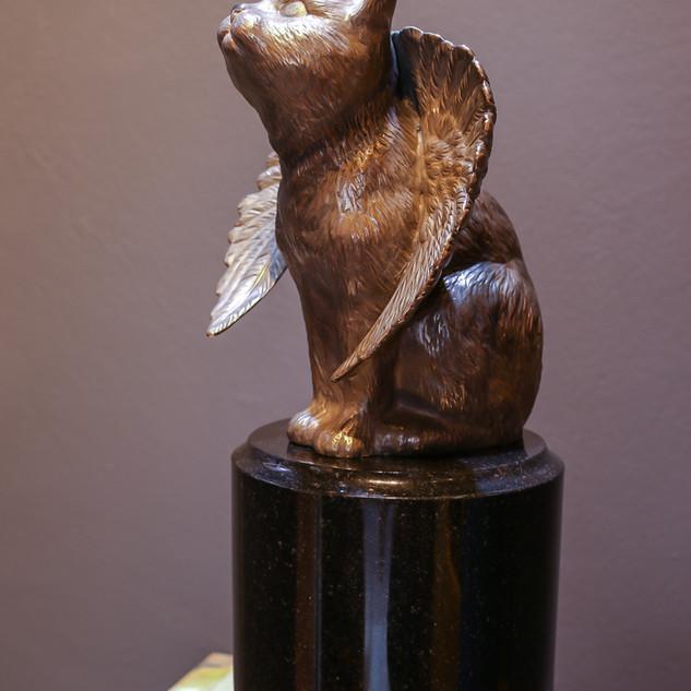 bronze   The Egyptian mau