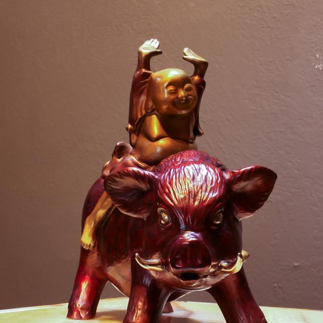 bronze  Buddhistava
