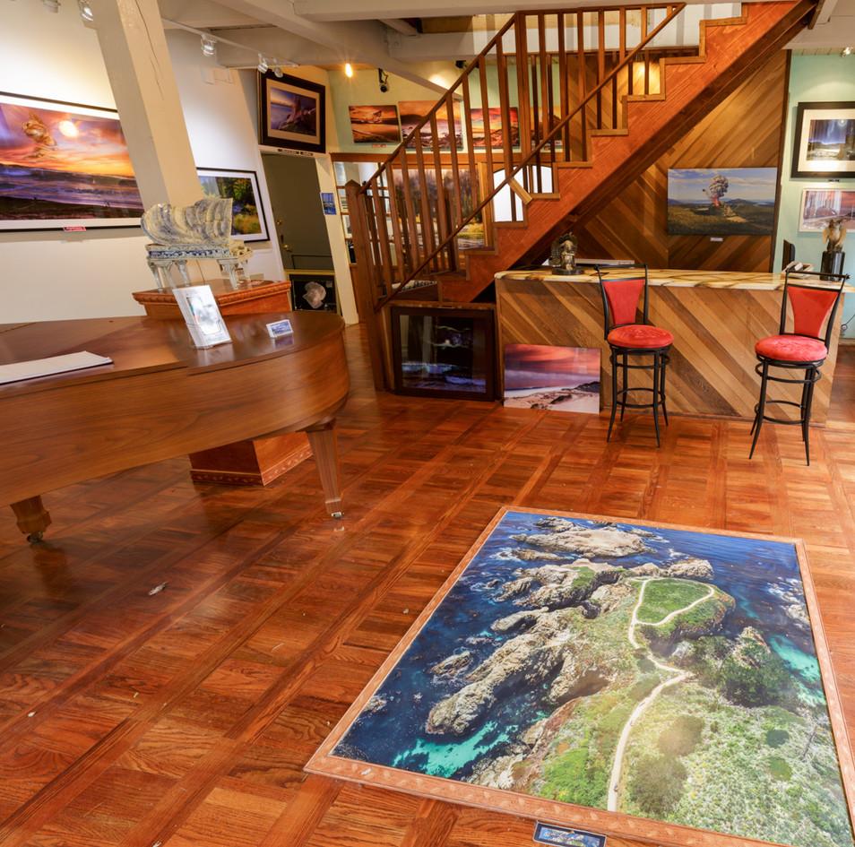 Gallery on San Carlos and ocean 2016.