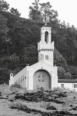 Monastery beach BW