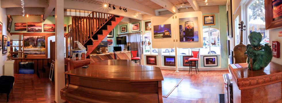 Panoramic shot of interior