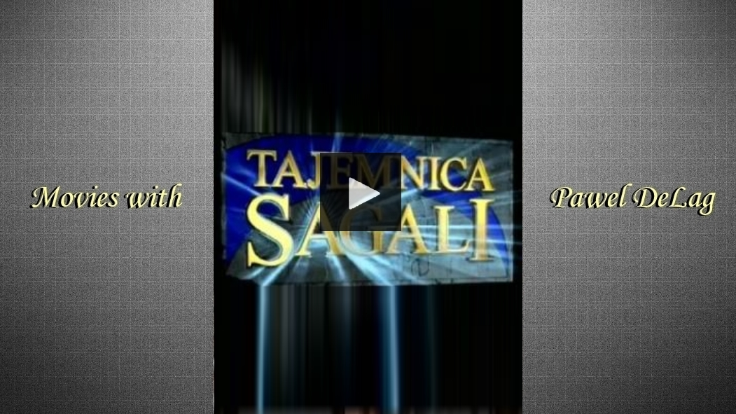 """""""Tajemnica Sagali"""" #1"""